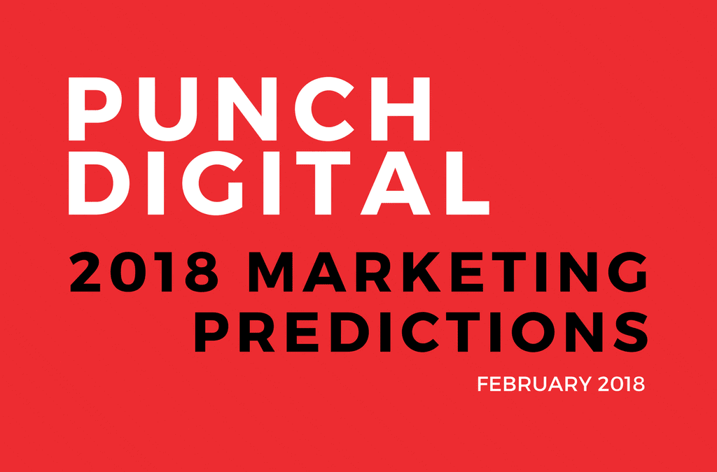 2018 Marketing Predictions Survey Report