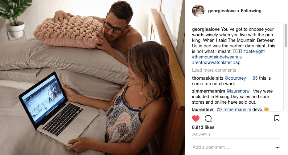 Georgia Love #sp post