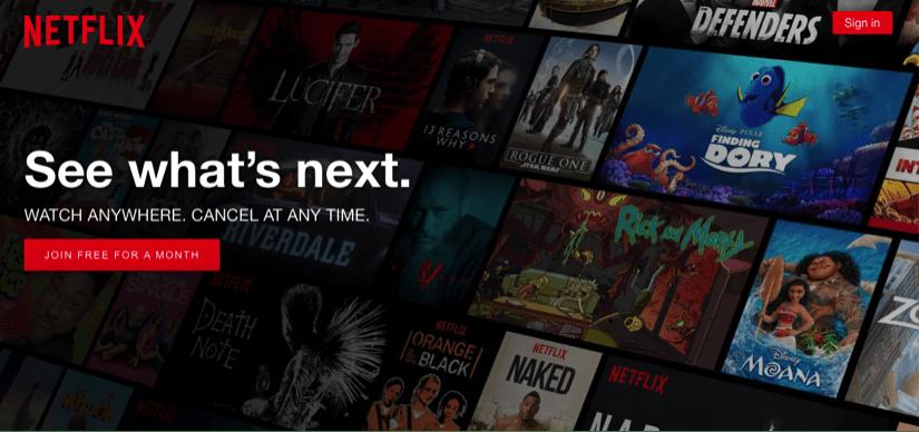 Netflix CTA